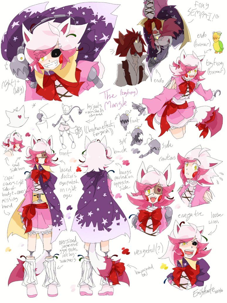 Toy chica x fem mangle preview undertale plans by red - Toy Freddy