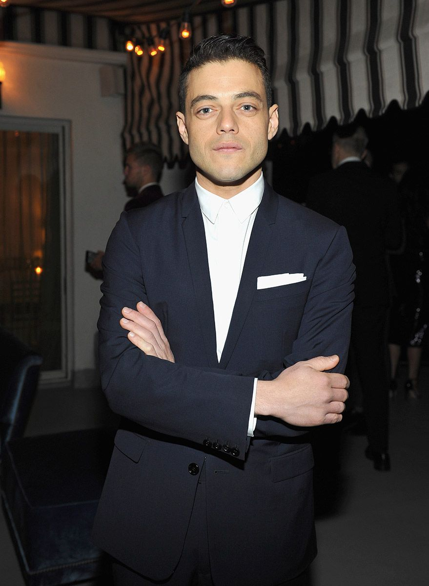 C Social Front. Dior Homme + GQ Men of the Year Dinner — Rami Malek