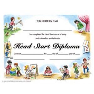 "Head Start Certificate - VA216CL, Pack of 30, 8.5"" x 11 ..."
