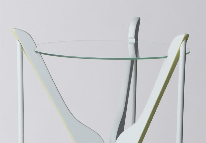 interior design federica sala re-contextualizes clothes hangers for hometto collection