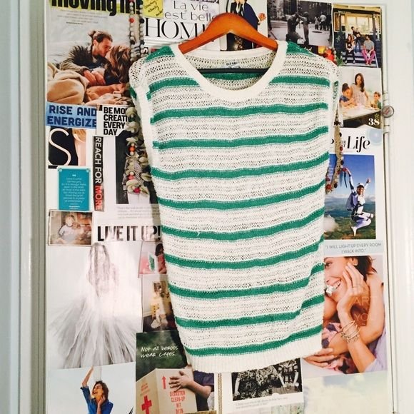 Old Navy striped sweater top Only worn once. All items are for sale. Old Navy Tops