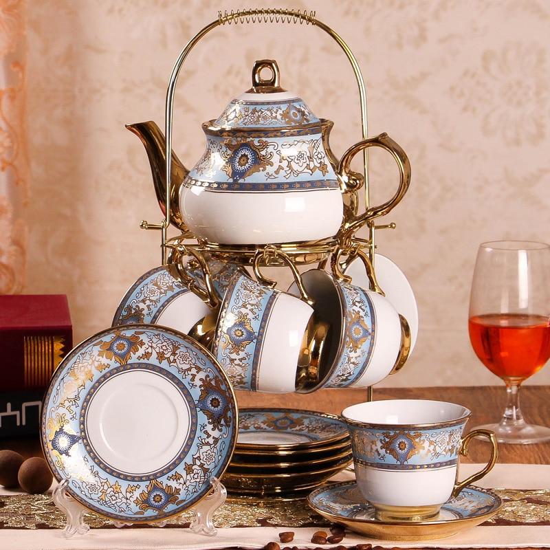 British Afternoon Tea Set 14 Piece with Display #teasets