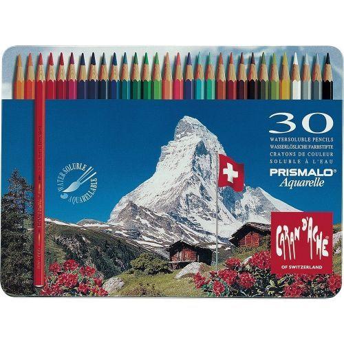 Caran D Ache Prismalo Aquarelle 18er 30er Box Farbstifte