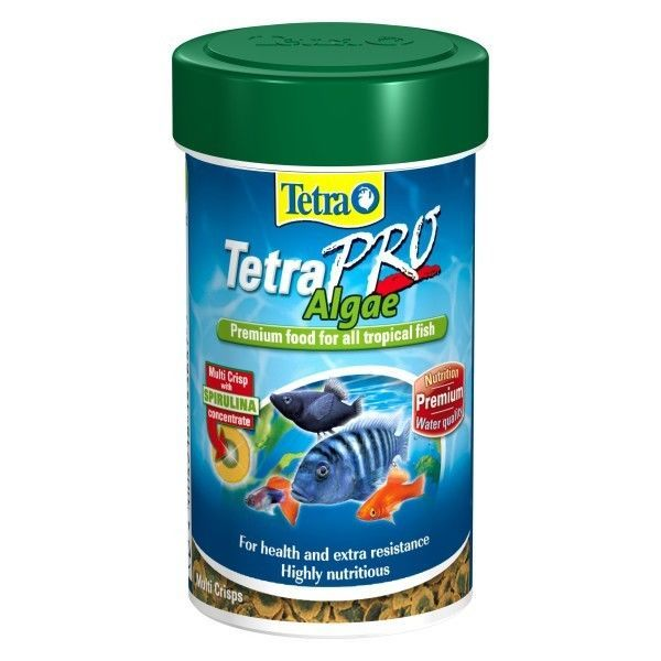Tetra Tetrapro Algae Premium Tropical Fish Food 45g 250ml 4004218143678 Listing In The Food Fish Pets Home Garden Categor Tropical Fish Fish Recipes Fish Pet