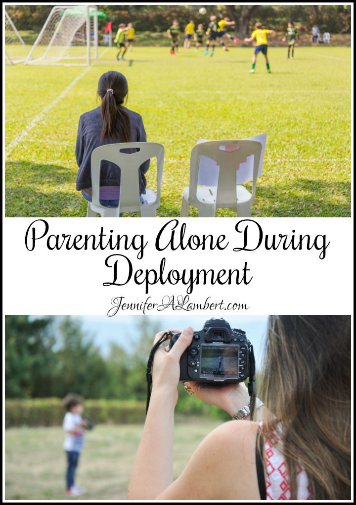 Parenting Alone During Deployment Parenting, Military