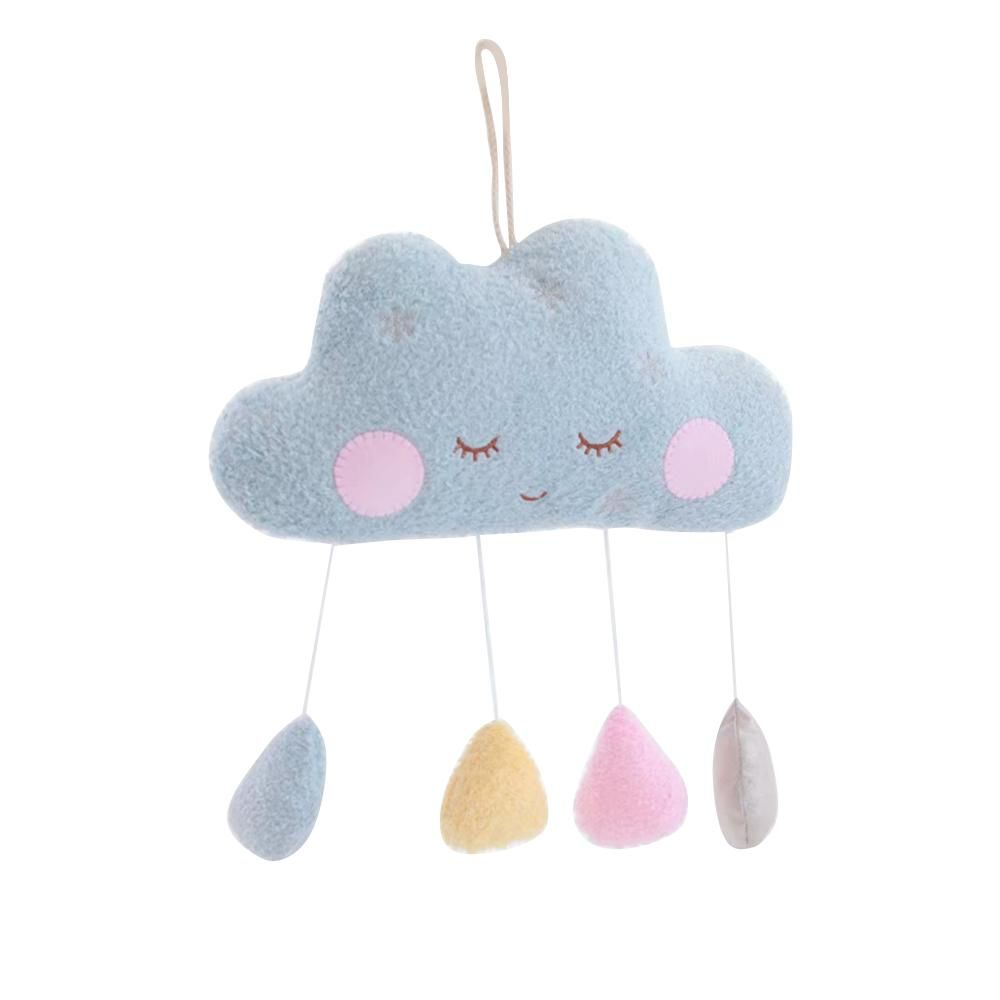 Funny Kids Stuffed Plush Toy Cloud Doll Stars Moon Pillow Doll Baby Girl Room Decor - A6