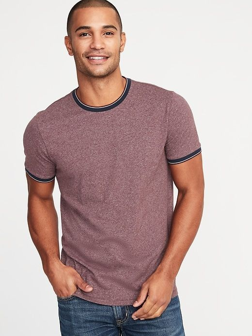 Soft-Washed Tipped Ringer Tee For Men in 2019 | Products