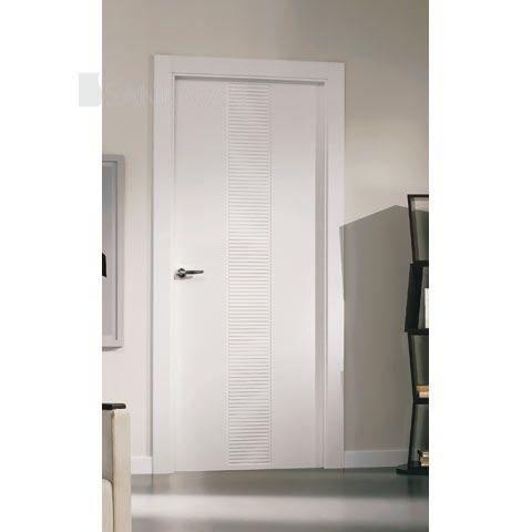 Lacada puertas pinterest puertas puertas lacadas y - Puertas paso blancas ...