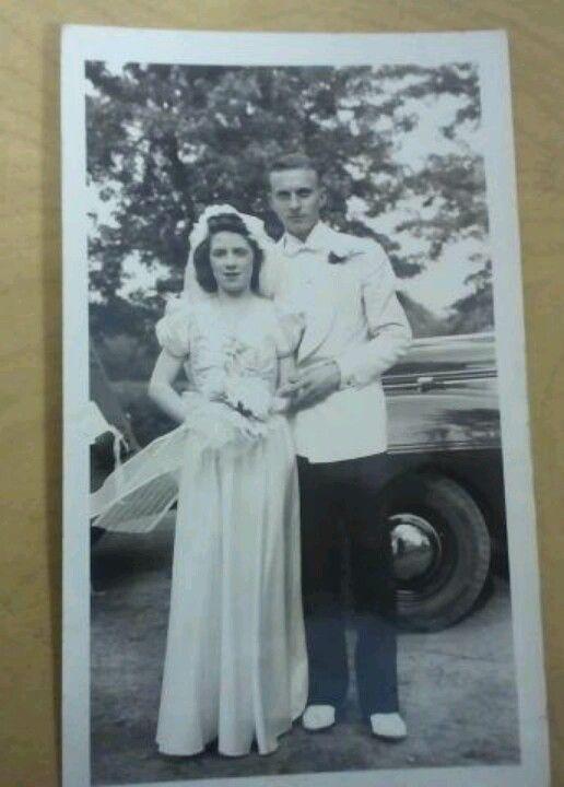 Wedding Day- 6-21-41.