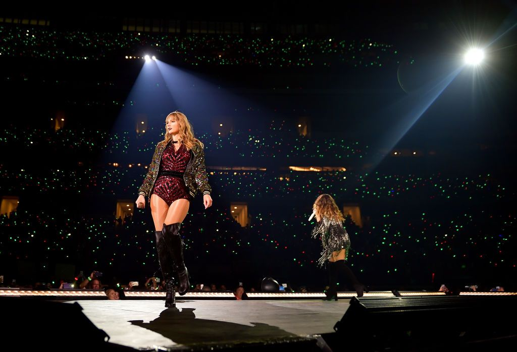 Taylor Swift And Maren Morris Perform Onstage During The Reputation Stadium Tour Taylor Swift Onstage