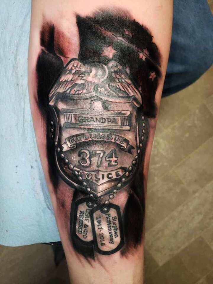 Grandfather Memorial Tattoo