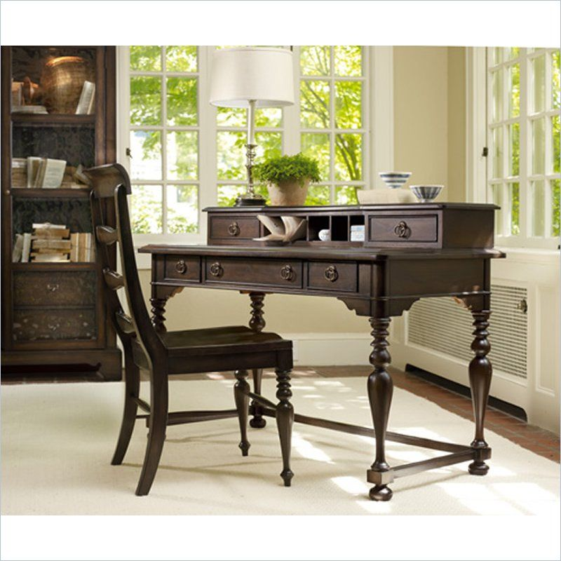 Master Furniture Harbour Pointe Writing Desk And Hutch In Bungalow