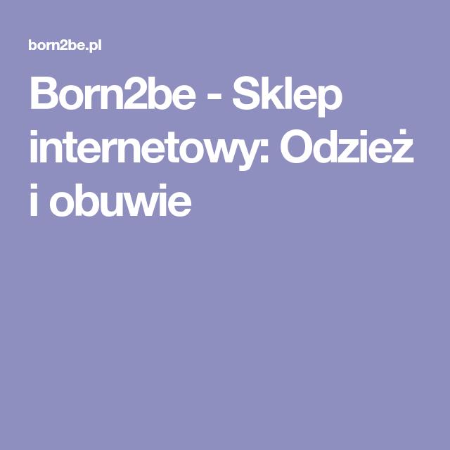 Born2be Sklep Internetowy Odziez I Obuwie Lockscreen