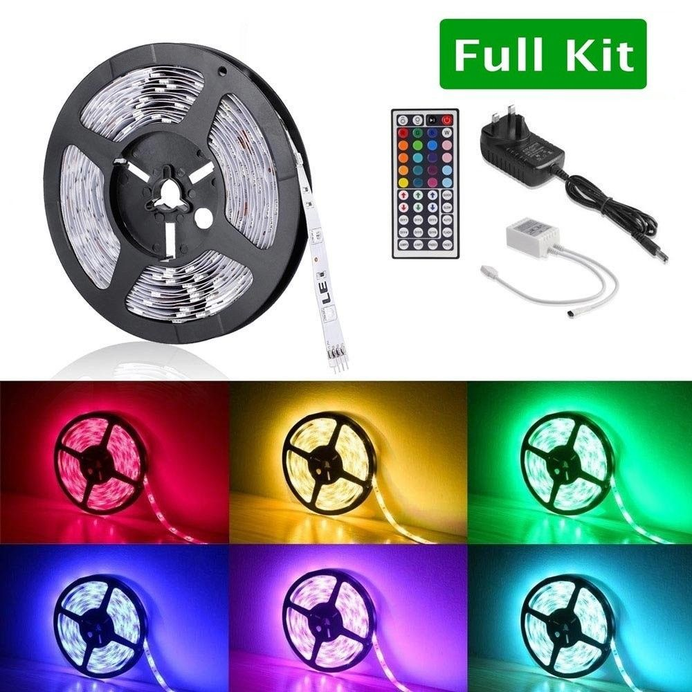 Flexible RGB LED Strip Light Kit, NonWaterproof, with