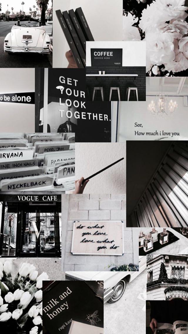Black Aesthetic Wallpaper Pinterest