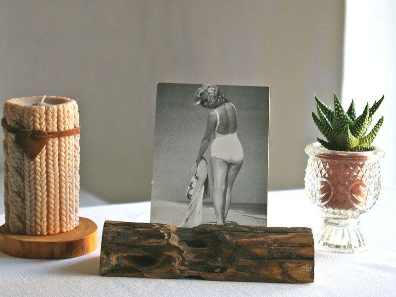 Karten-+oder+Fotohalter+aus+Treibholz,Holzständer++von+Schlueter-Home-Design+auf+DaWanda.com