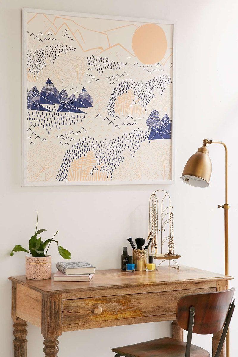 Minimalist Wandgestaltung Bildteppich Wohnung Dekorieren Diy Dekoideen