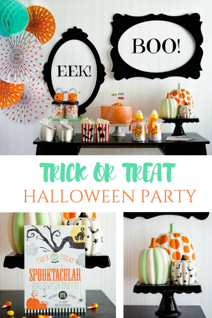 Trick or treat halloween party ideas the best halloween ideas