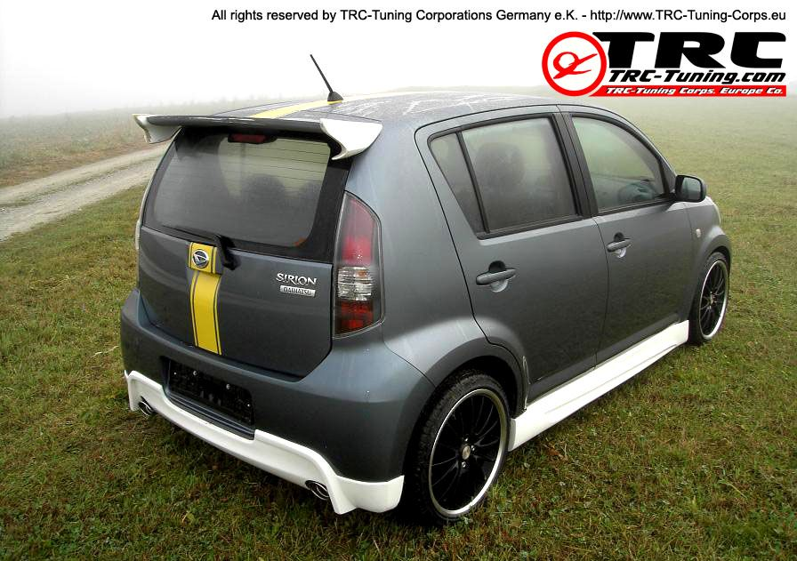 Trc Tuning Daihatsu Sirion Mobil