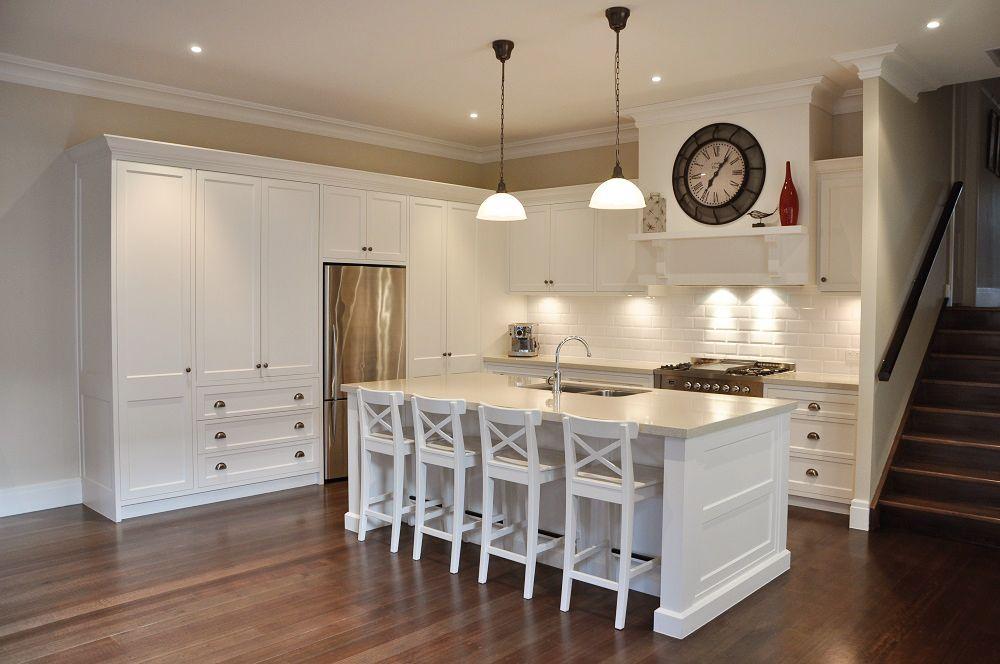 modern colonial kitchen design almond rocca caesarstone benches kitchen design pinterest