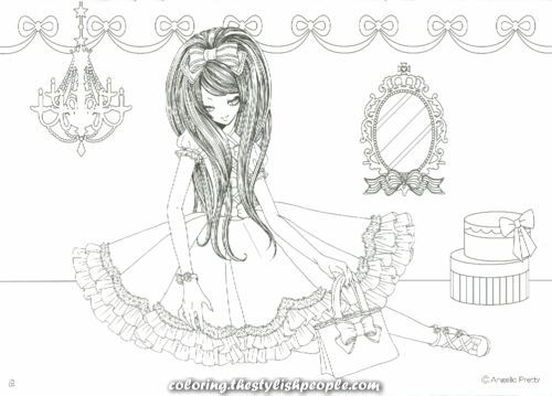 Lovely Angelic Fairly coloring guide Lovely Angelic Fairly coloring guide
