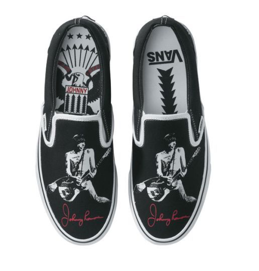 Johnny Ramone Vans. I NEED THESE! | Vans, Ankle sneakers, Shoe boots