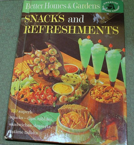 Vintage Cookbook Snacks and Refreshments by CrazyAuntDesigns