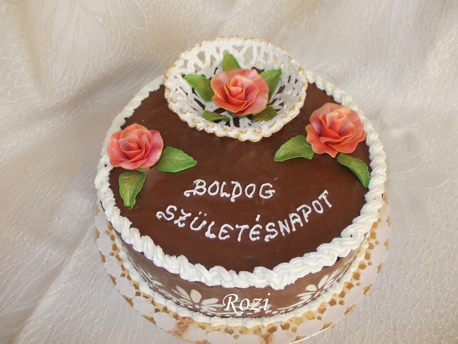 születésnapi torta Rozi Erdélyi konyhája: Születésnapi torta | magyar alkalmi tortak  születésnapi torta