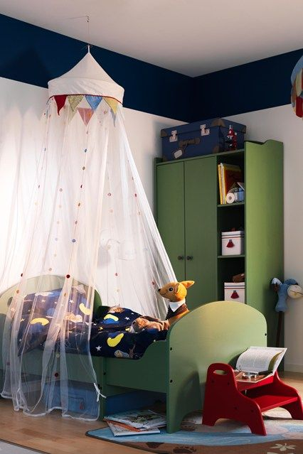 This Sheer Canopy Instantly Adds A Bit Of Magic To A Kids Room Bedroom Decor Design House Canopy Canopy Bedroom