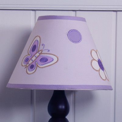 New Lavender Butterfly GEENNY Lamp Shade