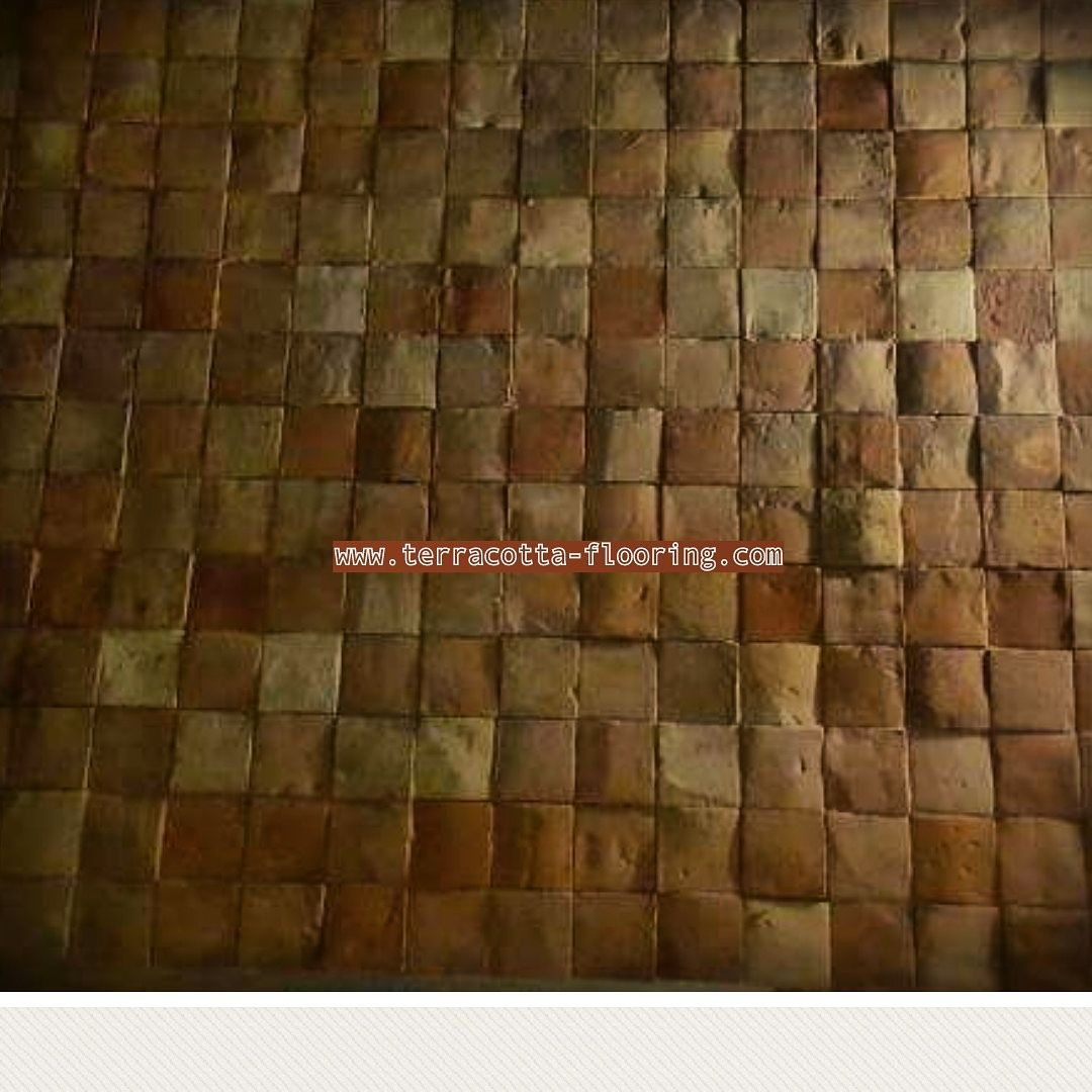 Reclaimed hand finished terracotta square tiles 6x6 inches in reclaimed hand finished terracotta square tiles 6x6 inches in stock reclaimed terracotta tiles doublecrazyfo Images