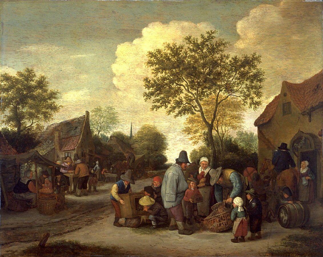 Картинки по запросу village scene