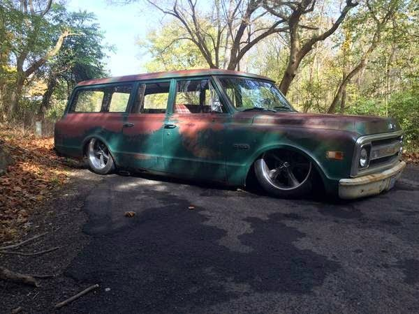 1969 Chevy Suburban 3 Door Shop Truck Patina Hot Rod Chevy