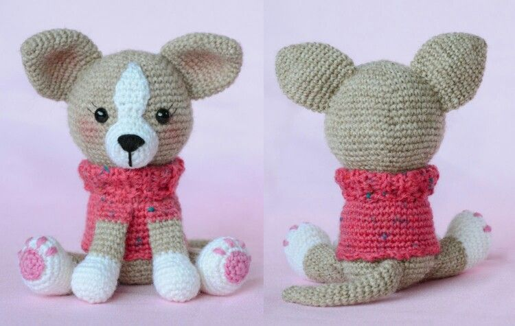 Free Pattern Chihuahua Haken Pinterest Free Pattern Patterns