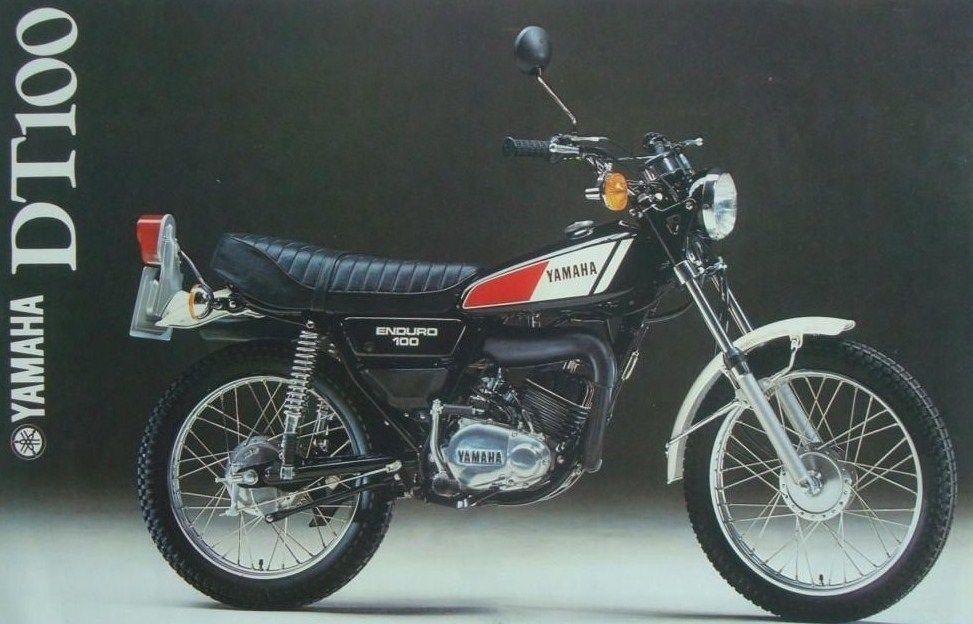 Yamaha Dt100 Sales Brochure Pic Ebay Motorcycle Dirt Bikes