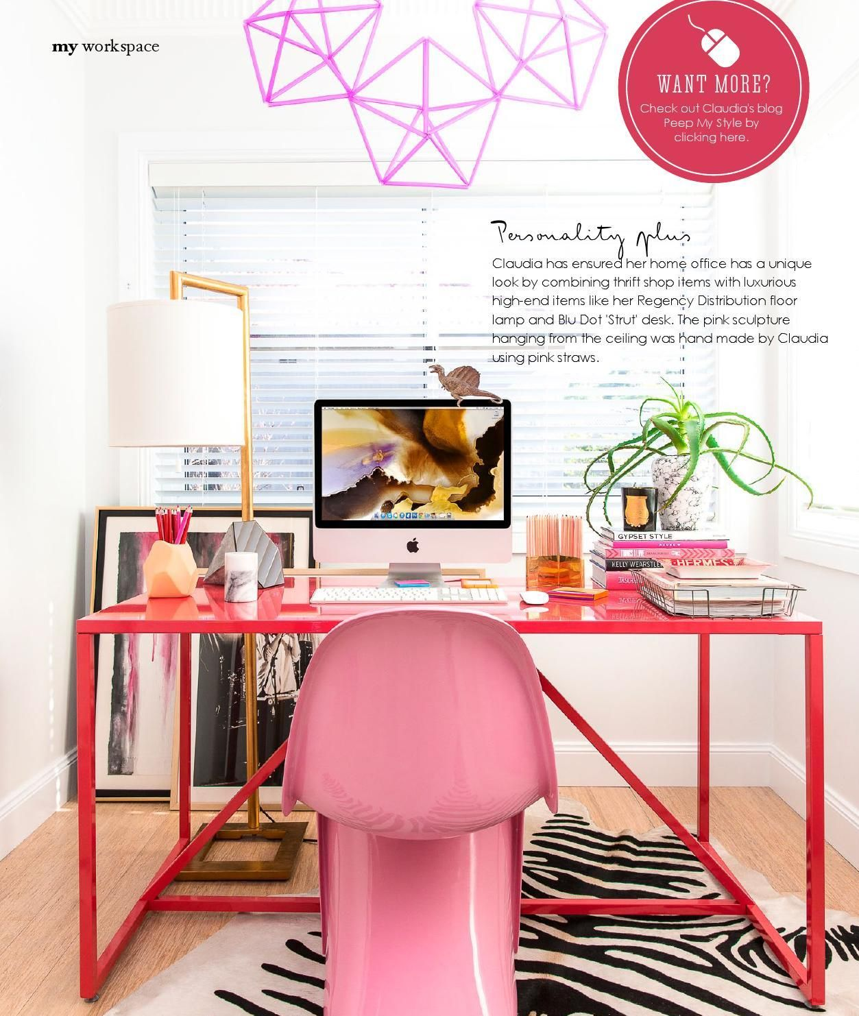 Clippedonissuu From Adore Home Jun Jul 2014 Work Space