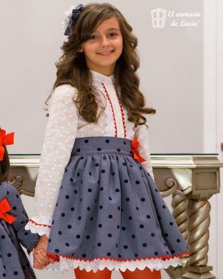 99a2c1ef42504 estilo de falda y blusa para niñas - Buscar con Google