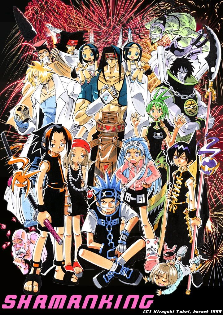 I Feel Like Shaman King Is Not An Often Read Watched Manga Anime