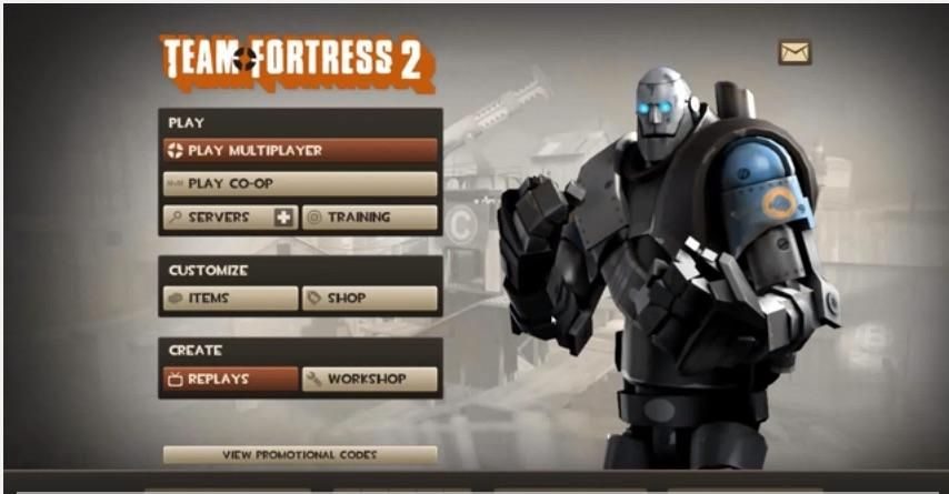 This is the style the main menu was when I first started
