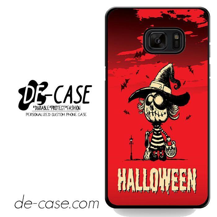 Hallowen Pumpkin Girl DEAL-4998 Samsung Phonecase Cover For Samsung Galaxy Note 7