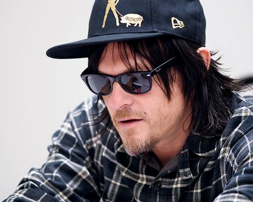 Norman Reedus photographed by Darren Keast at Fan Expo Canada 2014