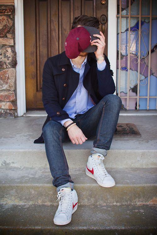 How To Wear Nike Blazers : blazers, Streetstyle, #style, #streetfashion, #fashion, #mensfashion, #mensstyle, #manstyle, Blazers, Outfit,, Street, Style,, Blazer, Outfits
