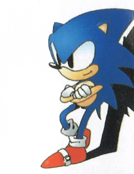 Sonic The Hedgehog 2 Sega Genesis Official Artwork Sonic The Hedgehog Sonic Hedgehog