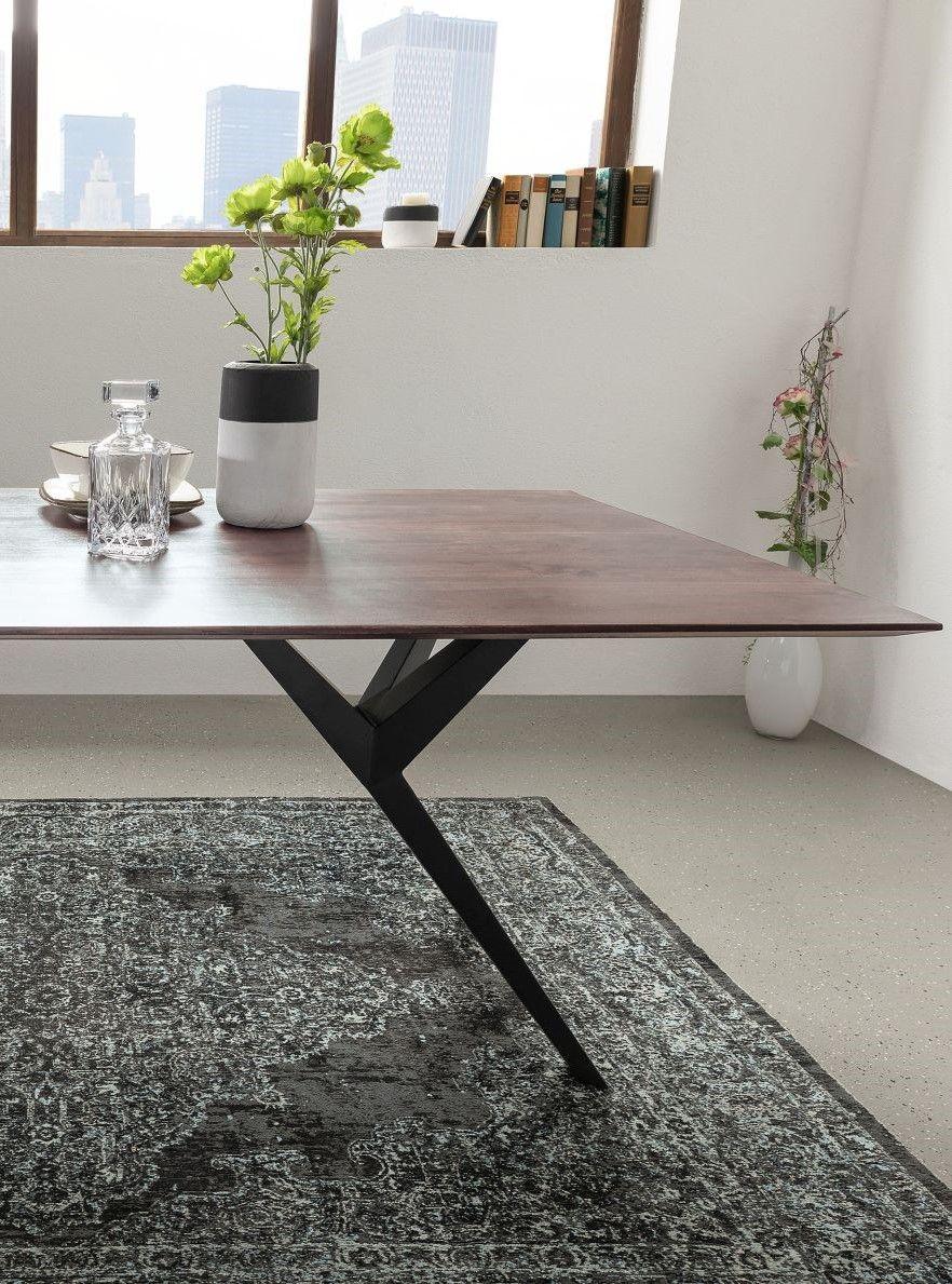 Möbel Baumkante versandfrei kaufen  Esstisch modern, Esstisch und