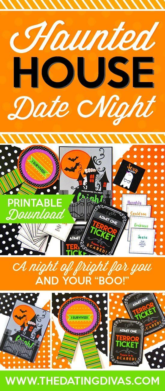 Haunted House Date Night Halloween date, Romantic date