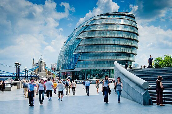 The City Hall In London With Images City Hall London City