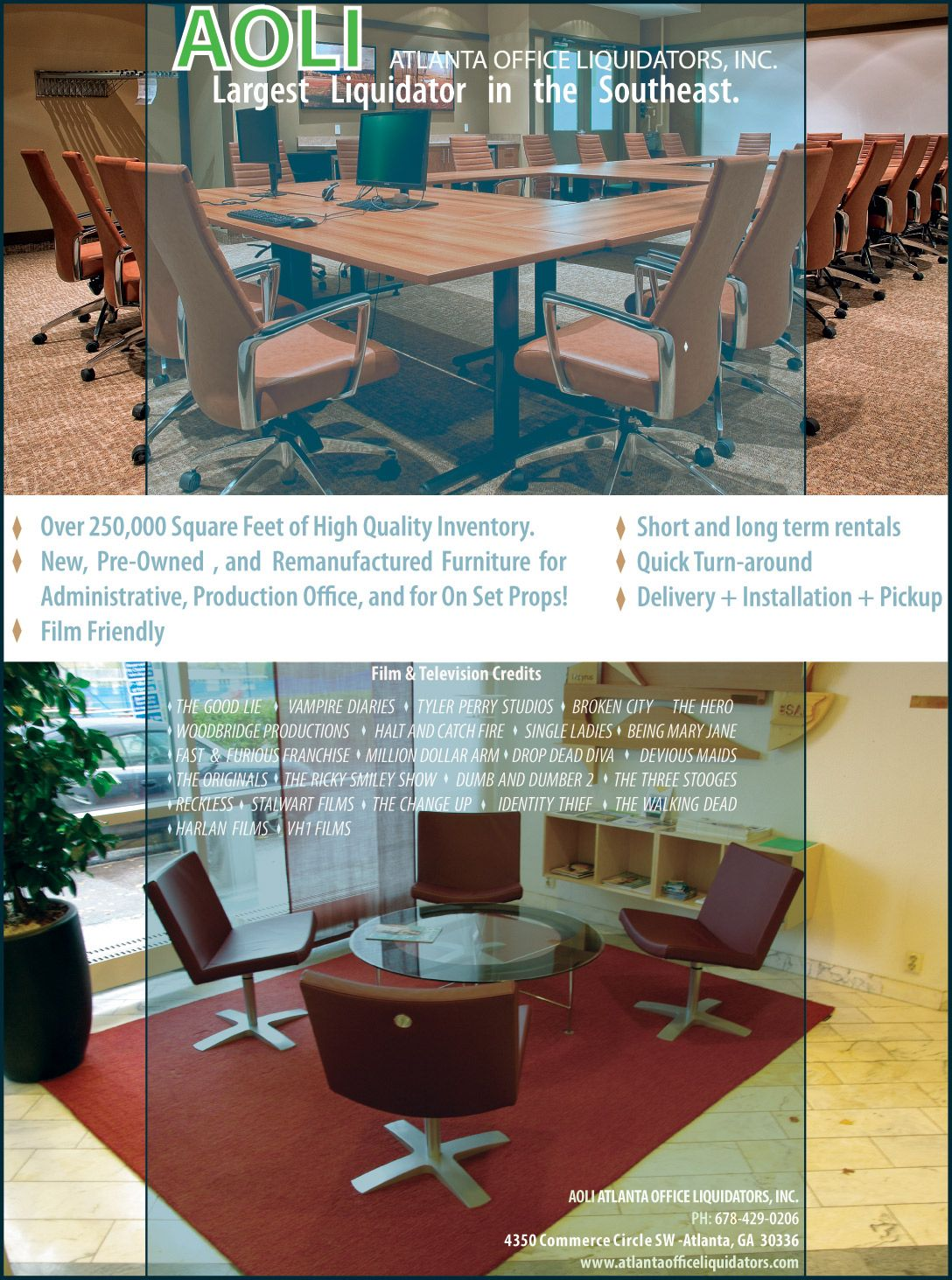 Exceptional Atlanta Office Liquidators Oz Ad: Print Ad For Atlanta Office Liquidators,  A Office Furniture