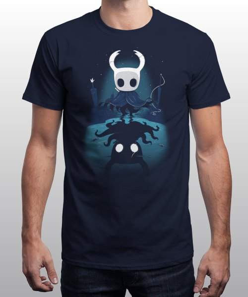 """""""Hollow Reflection"""" is today's £9/€11/$12 tee for 24 hours only on Pin this for…   Qwertee thumbnail"""