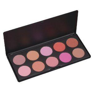 Coastal Scents - 10 Piece Professional Blush Palette