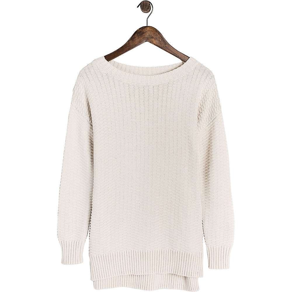 United By Blue Women's Himley Waffle Sweater - Medium - Cream